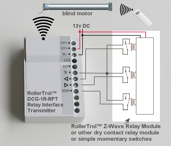 Motorized Blinds Amp Shades Relay Control