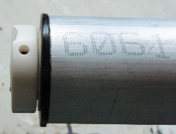 tubular motor insertion into tube